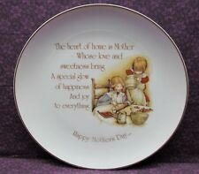 "Vintage Collector Plate 1976 Holly Hobbie Mother'S Day - ""The Heart Of Home."""