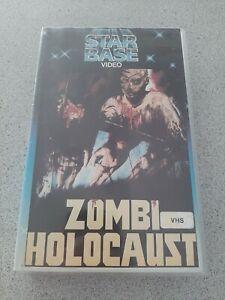 Zombi Holocaust -Vhs -Rare -Star Base Video  -Horror