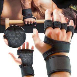 1 Pair slip Sports Gym Fitness Gloves Shockproof Weight Lifting Training Glove H