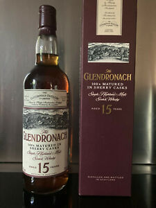 THE GLENDRONACH Sherry Cask Casks 15 Years RAR