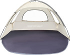 WhiteFang Beach Tent Anti-UV Portable Sun Shade Shelter for 3 Person, Extendable