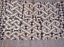 Antique Kuba Cloth Raffia Textile Traditional African Tribal Money Congo, Africa