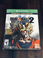 NEW Dragonball Xenoverse 2 XB1 XBOX ONE Collector's Day One Edition + DLC DBZ