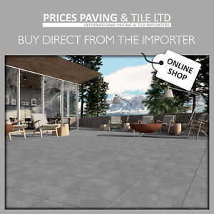 Premium Full Bodied Porcelain Patio Paving Vitrified Outdoor Wood Stone Effect
