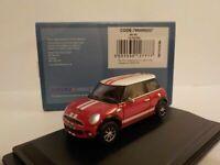 New Mini - Red /white, Oxford Diecast 1/76 New