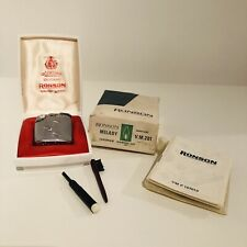 VINTAGE Ronson Milady Varaflame Lighter With Box