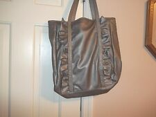 NEW YORK & COMPANY LADIES HAND BAG PURSE POCKETBOOK SILVER GRAY