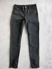 """SCOTCH &SODA Maison STEVIE SKINNY BIKER Jeans Hose schwarz Gr 34 36 W27/L30 """"Neu"""