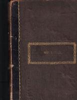 Frank Leslie's New Family Magazine Bound Volume January to June 1859