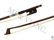 MI&VI Pernambuco Cello Bow Tinsel Lapping 3/4-Octagonal Silver Mount Nickl Stick