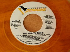 KARDAZ~THE MIGHTY GUINS~RARE YELLOW WAX~PITTSBURGH PENGUINS THEME SONG~~ NOVELTY