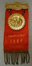 Vintage INDEPENDENT ORDER of ODD FELLOWS IOOF MINNESOTA GRAND LODGE BADGE MEDAL