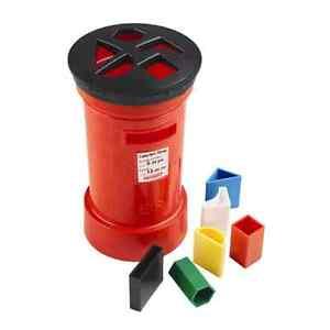 Casdon Post Box Shape Sorter Little Ones Babies Kids Childrens Toys Games Colour