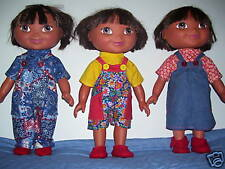 "NG Creations Sew Pattern #4 Coverall Top fits 15"" Dress up Dora Doll"