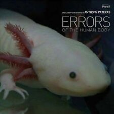 PATERAS , ANTHONY - ERRORS OF THE HUMAN BODY NEW VINYL RECORD