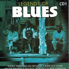 CD CARTONNE CARDSLEEVE BLUES 20T LEADBELLY/JOSH WHITE/SONNY TERRY/BESSIE SMITH