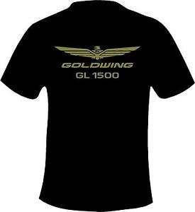 Honda Goldwing GL1500 Motorcycle Printed T Shirt in 6 Sizes