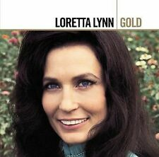 Gold by Loretta Lynn (CD, Mar-2006, 2 Discs, MCA Nashville)