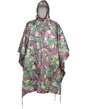 Army Waterproof Military Combat Hooded Basha Poncho Camo US & British Army Style