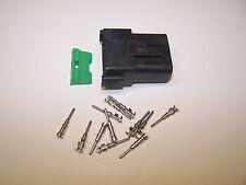 1 Harley OEM Deutsch DT BLACK FEMALE 12X connector terminals switch wires wiring