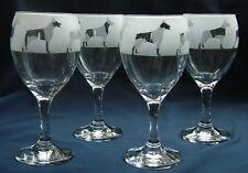 More details for doberman pinscher dog wine glasses