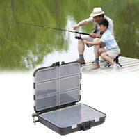 HOT Waterproof Fishing Lure Bait Tackle Storage Box Case 26 Compartments wi S0N0
