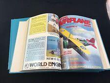 Model Airplane News Magazine Vintage January 1983-June 1985 HARDBOUND! RARE!