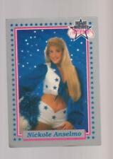 1992 Enor Dallas Cowboys Cheerleaders #1 Nicole Anselmo card