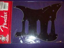 NEW - Genuine Fender Strat Pickguard, 11 Holes - BLACK, 099-1359-000