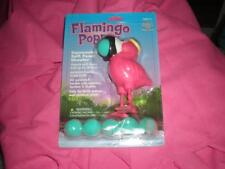 "PINK FLAMINGO ""POPPER"" (AGE 4+) FOAM BALLS SQUEEZE FLAMINGOS BELLY IT POPS BALL"