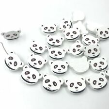 25pcs Wooden Beads bear Spacer Beading DIY Kids Toys&Pacifier Clip 23mm