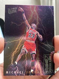 1993-94 Fleer Ultra Michael Jordan Scoring Kings Chicago Bulls Insert #5 of 10
