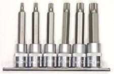 Famex 10757 - juego de 6 puntas para tornillos Xzn con orificio central (100 mm