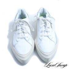 LNWOB RECENT Adidas White Hypersleek Sleek Pointy Leather G54050 Sneakers 8 NR