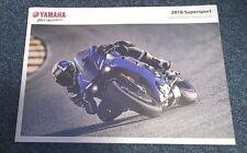 Yamaha Supersport Brochure 2018 - YZF-R1M YZF-R1 YZF-R6 YZF-R3 YZF-R125