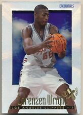 1996-97 E-X 2000 LORENZEN WRIGHT Essential Credentials Rare SP RC First 1 #1/499