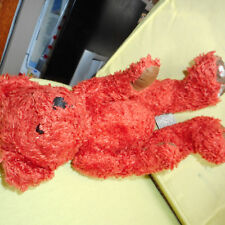 anna club plush  ours en  peluche roux ancien -