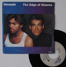 """Vinyle 45T Wham  """"The edge of heaven"""""""