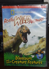 ~Nat Geo~ Really Wild Animals - Dinosaurs and Other Creature Features (DVD) NEW