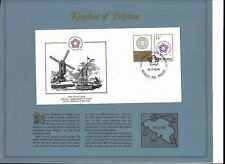 First Day Issue Official Commemorative Stamp Kingdom Of Belgium 03/13/1976 decor