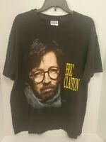 Vintage 1992 Eric Clapton US Tour T Shirt Single Stitch Hanes Size XL