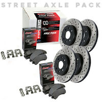 STOPTECH Hi-Performance Rotors+Pads Kit for Nissan 06-13 350z/370z 935.42001