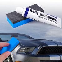 Car Body Compound Paint Scratch Paste Fix Vehicle Care Polishing Paste + Sponge