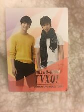 DBSK TVXQ Max & Yunho Smtown Live World Tour III Official photocard KPOP K-pop