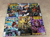 JACK KIRBY'S FOURTH WORLD #1,2,3,4,5,6 LOT OF 6 COMIC NM 1997 DC