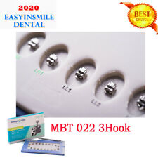 Orthodontic Self Ligating Metal Mini Brackets Dental Braces Mbt 022 3hooks 20pcs