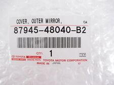 Genuine OEM Toyota 87945-48040-B2 Driver Side Mirror Cover Gray 2015-2018 RAV4