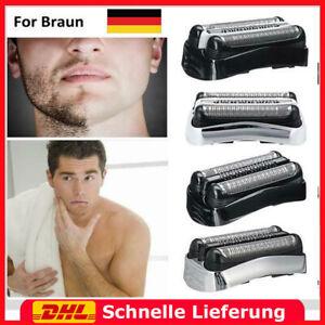 DE Rasierer Kassette Scherkopf Für Braun 21B 21S 32B 32S Series 3 Rasierer Neu