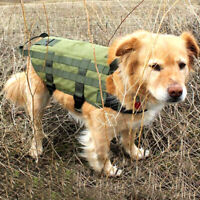 Tactical Dog Coat Military Training Harness with Mesh Padding and Two Handles