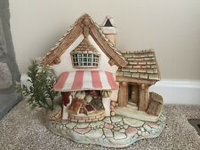 "Pendelfin Fruit Shop Made in England Stoneware Huge 11.5"" Display House"
